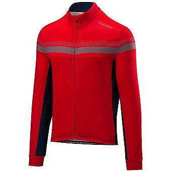 Altura Red-Blue 2018 Nightvision 4 Long Sleeved Cycling Jersey