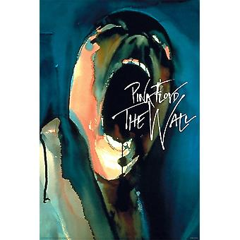 Poster - Pink Floyd - The Wall Scream 24