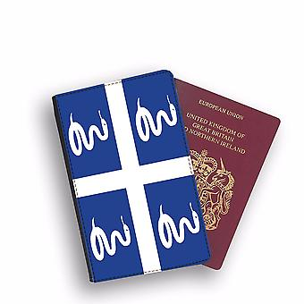 MARTINIQUE Flag Passport Holder Style Case Cover Protective Wallet Flags design