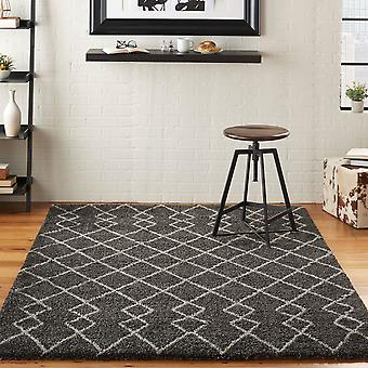 Martil MAT01 Charcoal  Rectangle Rugs Plain/Nearly Plain Rugs