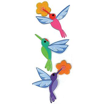 Jolee's By You Dimensional Stickers Slim Hummingbirds E5040192