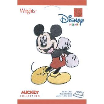 Disney Mickey Mouse Iron On Appliques Fist Motion 193 1740 0001