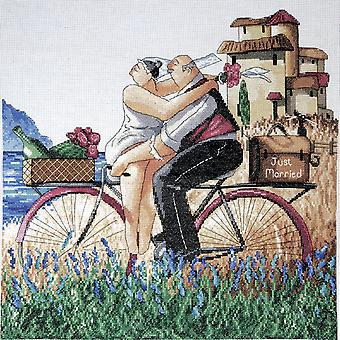 Just Married Counted Cross Stitch Kit 14