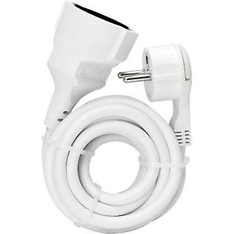 Current Extension cable [ Europlug - PG connector] White 5 m Kopp 143702083