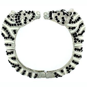 Dubbel leds Zebra armband armband