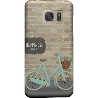 Happiness and bicycle cover for Galaxy S6