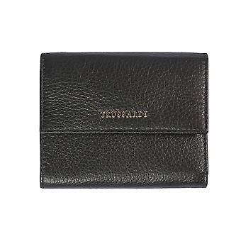 Trussardi women's wallets genuine leather Dollar 100% calf-12x10x2 .2 cm