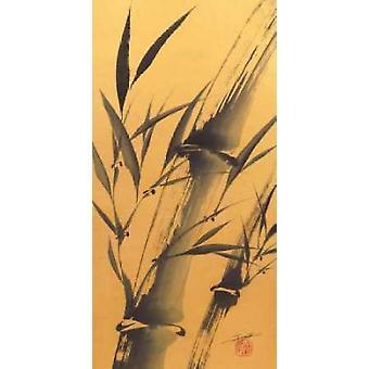 Bamboos Strength Poster Print by Katsumi Sugita