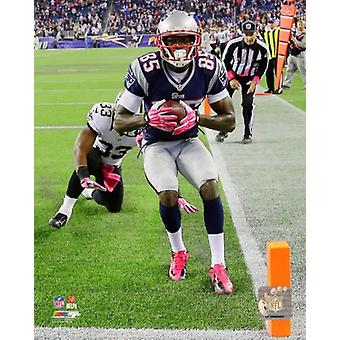 Kenbrell Thompkins Game Winning Touchdown Sunday October 13 2013 Photo Print