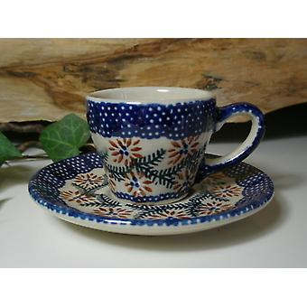 Mocha/espresso Cup with saucer, tradition 81, ceramic crockery - BSN 60932