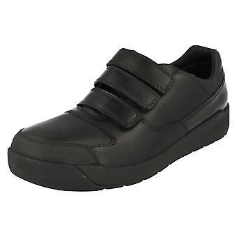 Senior Boys Bootleg by Clarks School Shoes Monte Lite