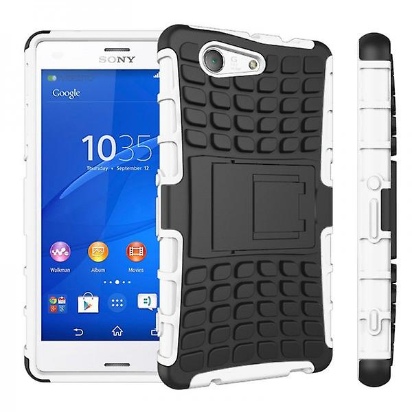 Hybrid Case 2teilig Robot White for Sony Xperia Z3 Compact D5803 M55W