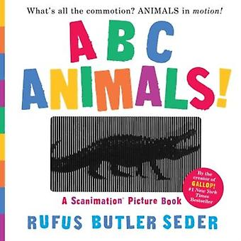 Abc Animals A Scanimation Book by Seder Rufus Butler