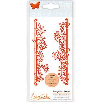 Tonic Studios Fanciful Floral Die-Posy Pillars 1536E