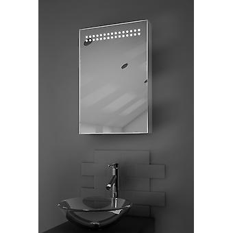 Jewel LED Illuminated Bathroom Cabinet With Sensor & Shaver k255
