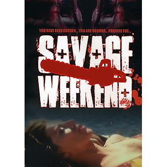 Savage Weekend [DVD] USA importerer