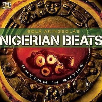Sola Akingbola - Nigerian Beats: Rhythm & Rhyme [CD] USA import