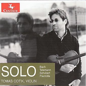 Telemann / Cotik, Tomas - Solo [CD] USA import