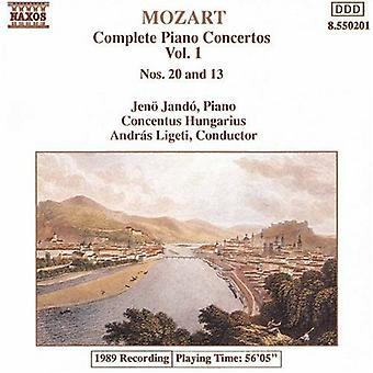 W.a. Mozart - Mozart: Complete Piano Concertos, Vol. 1 [CD] USA import