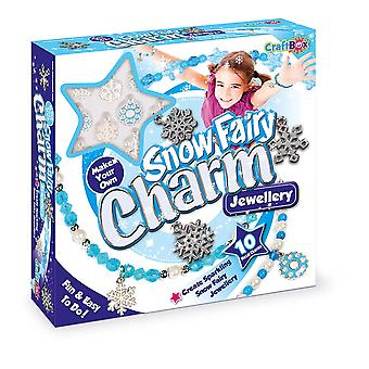 Craft Box Snowflake Jewellery Kit