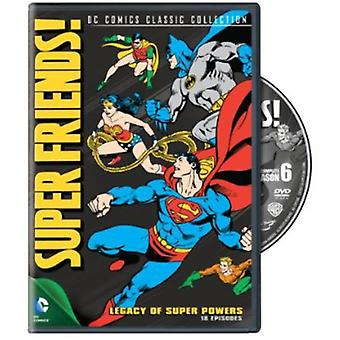 Super venner: Sesong 6-Legacy superkrefter [DVD] USA import