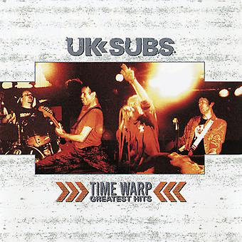 UK Subs - Time Warp - Greatest Hits [Vinyl] USA importeren