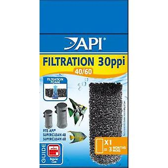 API Sponge Superclean 40/60 (Fish , Filters & Water Pumps , Filter Sponge/Foam)