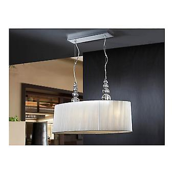 Schuller Mercury 4 Light Double Shade Pendant