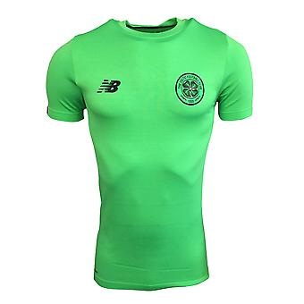 2017-2018 Celtic Elite Power Training Jersey (Vivid Cactus)