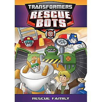 Transformatorer Rescue Bots: Rädda familjen [DVD] USA import