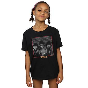 Run DMC flickor 82 bild T-Shirt