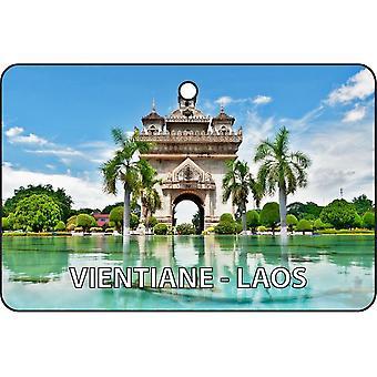 Vientiane - Laos Car Air Freshener