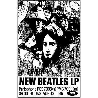 Beatles Revolver affiche Poster Print