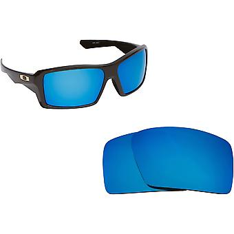 Best SEEK Polarized Replacement Lenses for Oakley EYEPATCH 1 Blue Mirror