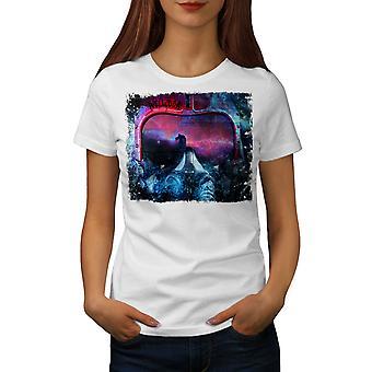Pilot Cool Space Women WhiteT-shirt | Wellcoda
