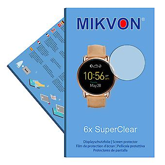 Fossil Q Wander screen protector- Mikvon films SuperClear