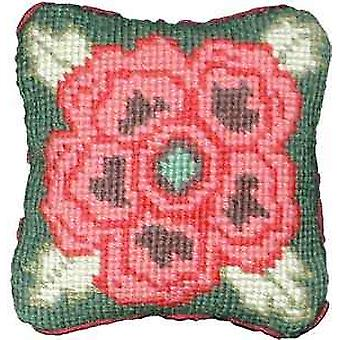 Tudor Rose Needlepoint Kit