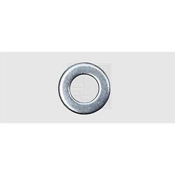 Washer Inside diameter: 6.4 mm M6 DIN 125 Steel zinc plated 100 pc(s) SWG 407620