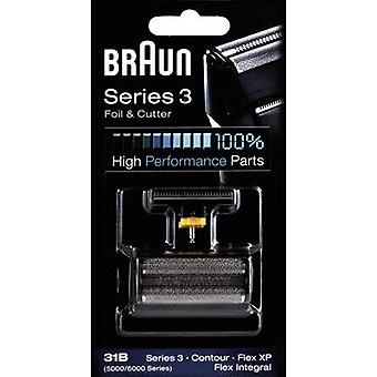 Foil and cutter Braun 31B - Kombipack 5000 Black 1 Set