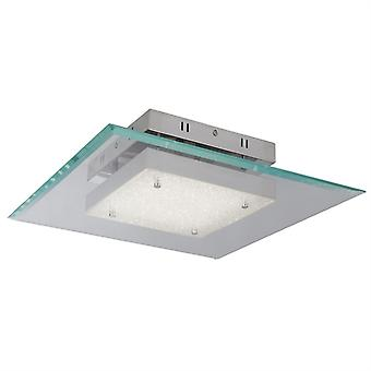 Lexi Square Chrome And Glass Led Pendant - Searchlight 3101-19cc
