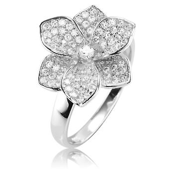 Ladies Shipton och Co Silver och Cubic Zirconia Ring TAO041CZ