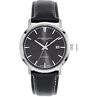 Abeler & sons men's watch business automatic A & S 2653