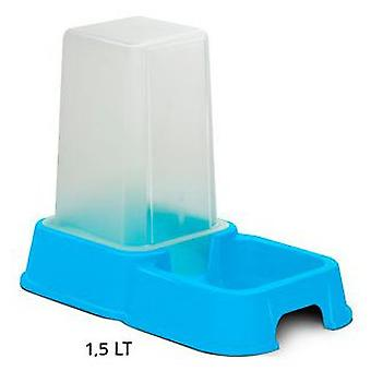 Nayeco Food hopper and blue Duo 1.5 L (Dogs , Bowls, Feeders & Water Dispensers)