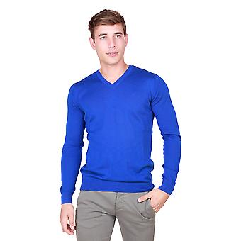 Trussardi Men Sweaters Blue
