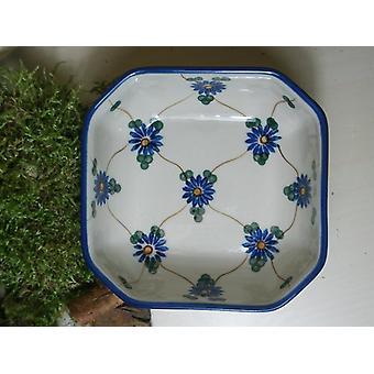 Bolle, 12,5 x 12,5 cm, 5 cm høy, tradisjonell 8 - Bunzlau keramikk - BSN 5414