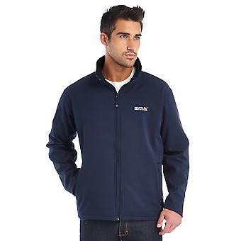Regatta Mens Cera III Softshell Hiking Walking Jacket Coat Navy
