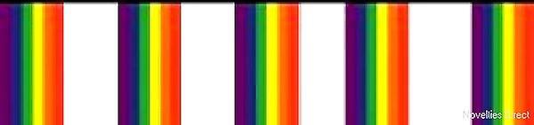 Rainbow Flag Bunting