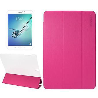 ENKAY smart cover rosa per Samsung Galaxy scheda S3 9,7 T820 T825 2017 manica Borsa
