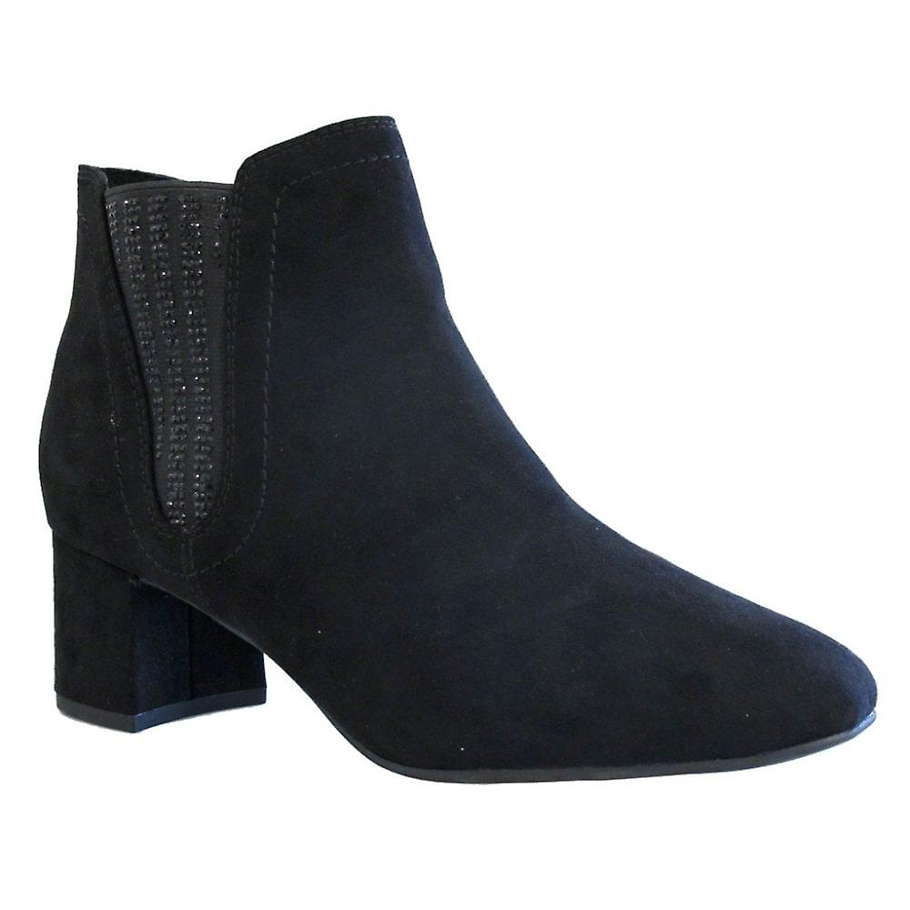 Marco Tozzi Womens Ankle Boot Black