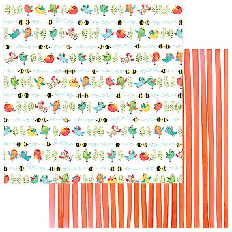 Spring In My Garden Double-Sided Cardstock 12